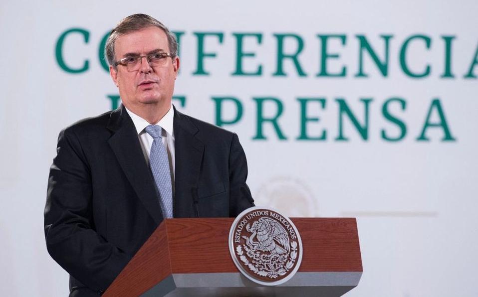 El canciller mexicano sí buscará la Presidencia en 2024
