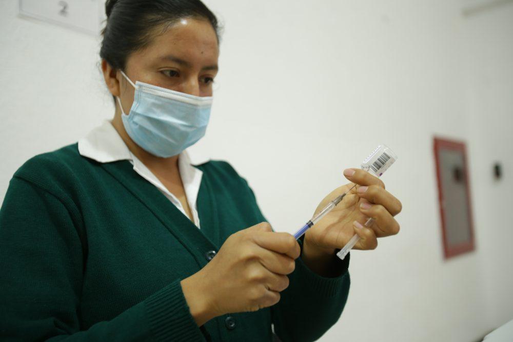 Puebla capital, sin fecha para vacunar a treintañeros