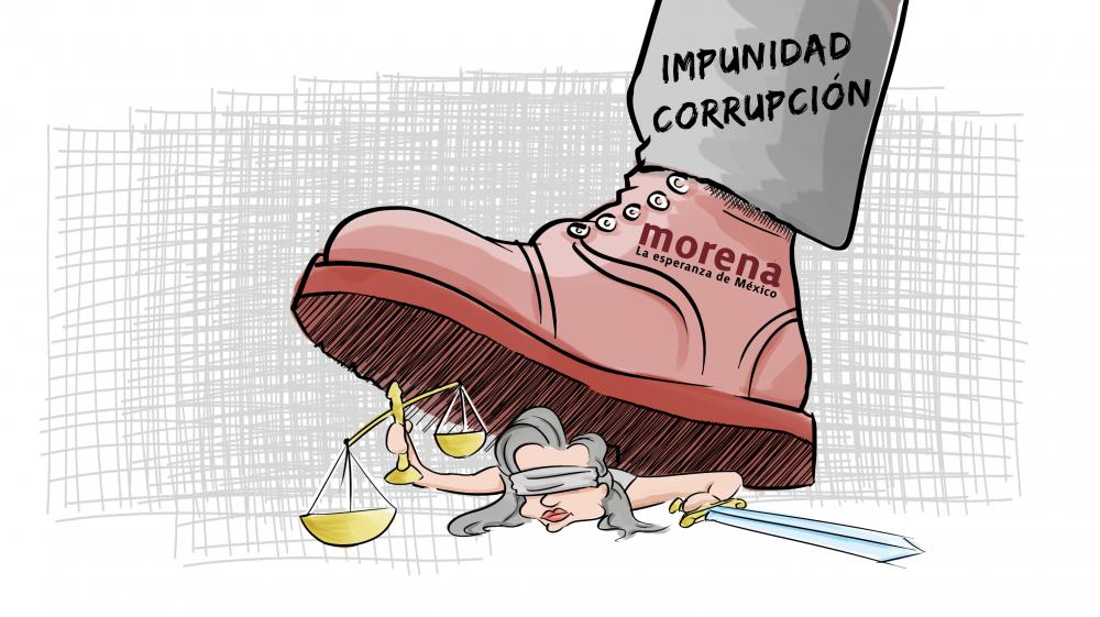 La corrupción y la impunidad viven, en la 4T