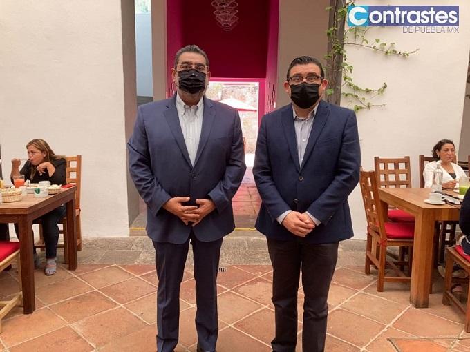 Eduardo Alcántara, Sergio Salomón y Jorge Estefan, la nueva clase política