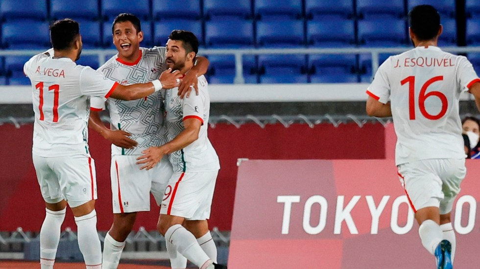 El Tri Olímpico golea a Corea y avanza a las Semifinales de Tokyo 2020