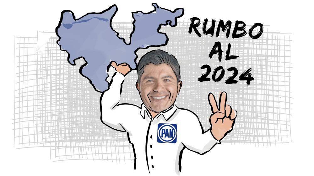 Lalo Rivera en plan grande, ya trabaja para 2024