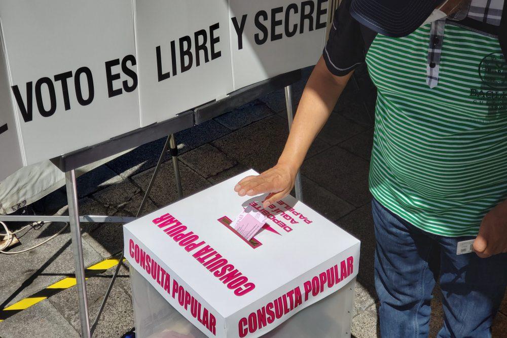 Consulta Popular alcanza el 7.74% de participación ciudadana.