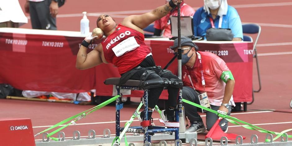 Gloria Zarza obtiene medalla de plata para México en Juegos Paralímpicos de Tokio