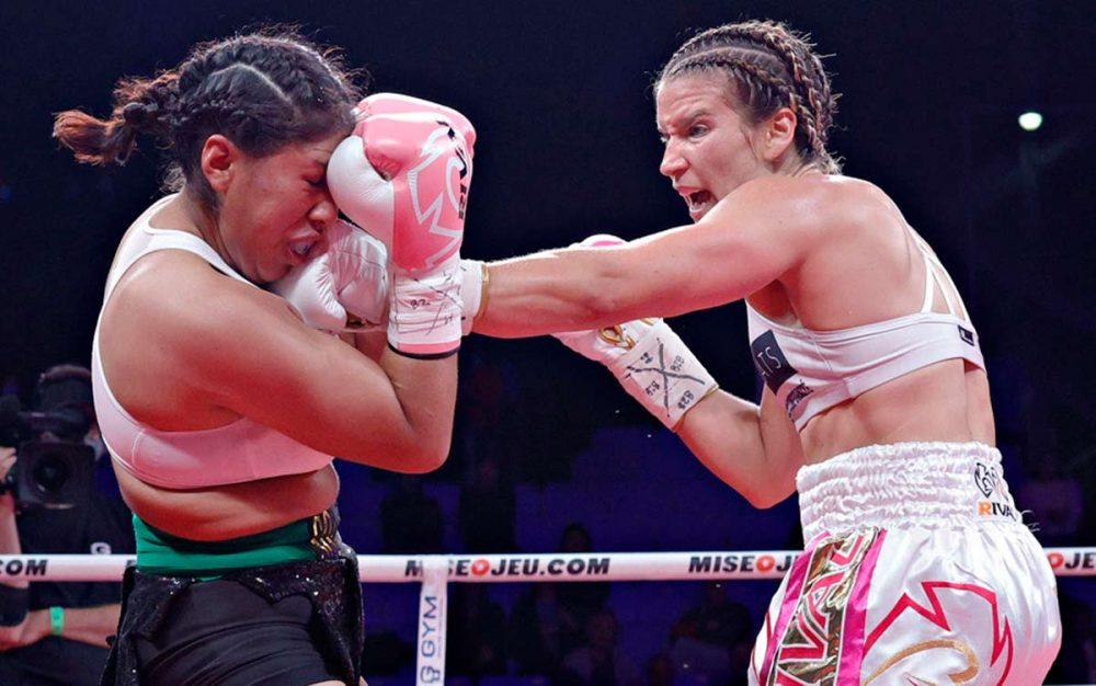 Muere boxeadora mexicana que fue noqueada en Canadá