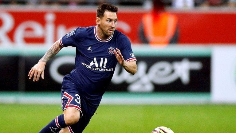 Messi rompió marcas de audiencia con su debut en el PSG