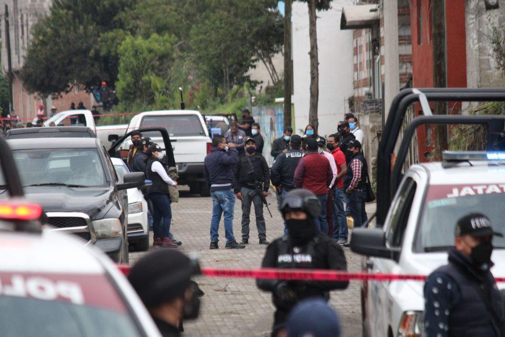 Ante investigación de la Fiscalía, hay 4 detenidos y un fallecido en Tlaltenango