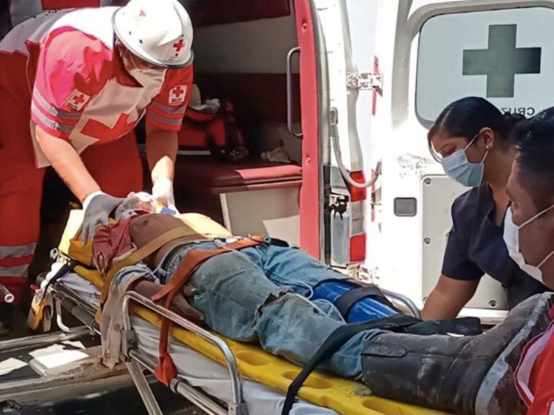 Mueren dos obreros tras derrumbe en Ciudad del Carmen
