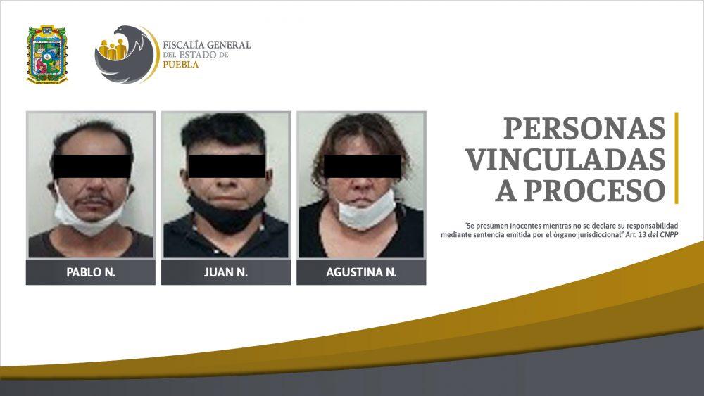 Tres personas en prisión por posesión de más de 120 dosis de droga
