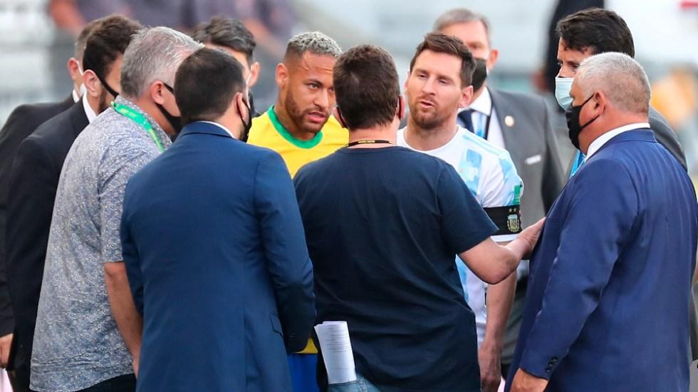 FIFA recibe los primeros informes sobre la cancelación del partido de Brazil vs Argentina