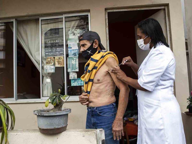 Brasil registra 34 mil 407 nuevos casos y 643 nuevas muertes por covid