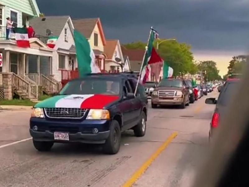 Organizan gran desfile de autos en Milwaukee por Independencia de México