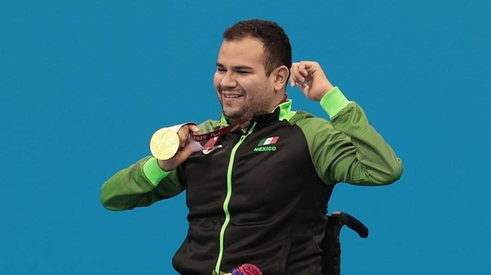 Diego López obtiene oro para México en Juegos Paralímpicos