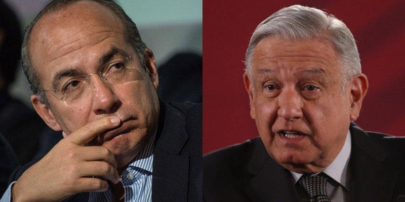 "Felipe Calderón acusa ""persecución política"" por parte de AMLO"