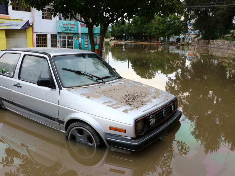Reportan tres posibles casos de cólera tras inundaciones en Tula