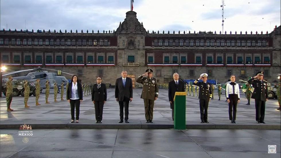 AMLO  recuerda a víctimas de sismos de 1985 y 2017