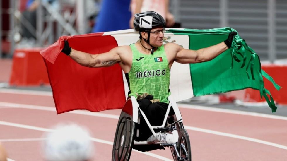 Juan Pablo Cervantes obtiene medalla de bronce en Paralímpicos