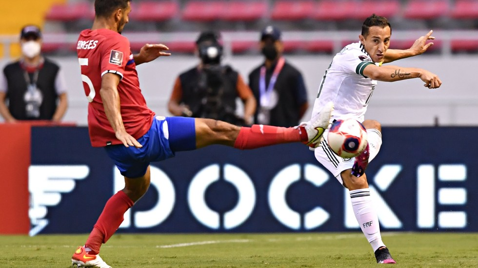 México derrota a Costa Rica rumbo a Qatar 2022