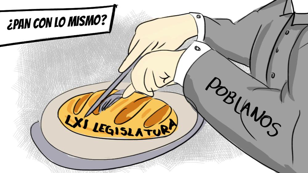 Los nuevos diputados de la LXI Legislatura ¿Pan con lo mismo?