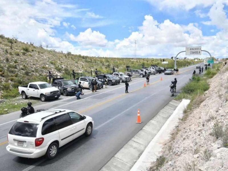 Militares y policías abaten a 9 sicarios en Hidalgo, Coahuila