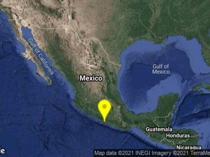 Sismo de magnitud 4.2 remece a Guerrero en pleno 19-S