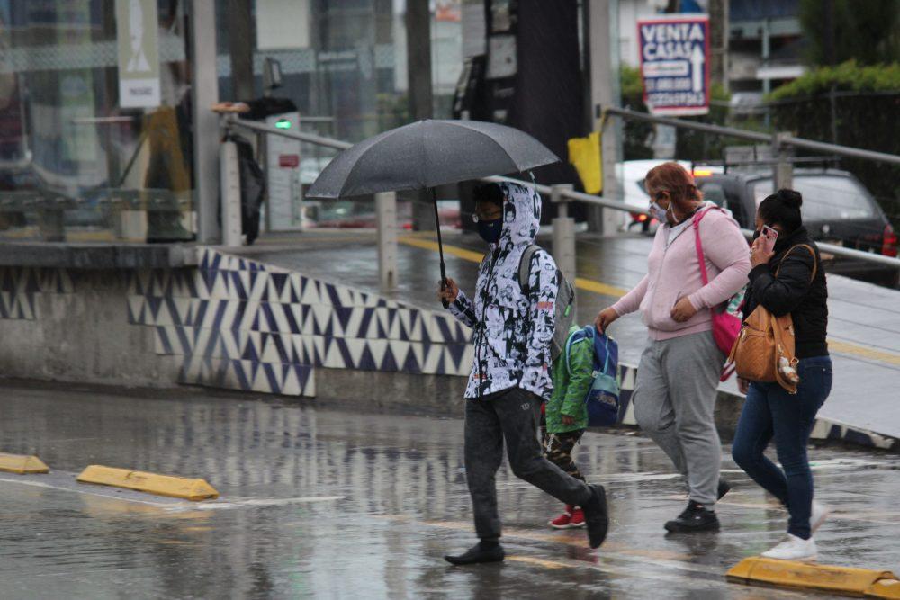 Fuertes lluvias de este martes afectan a varios municipios de Puebla