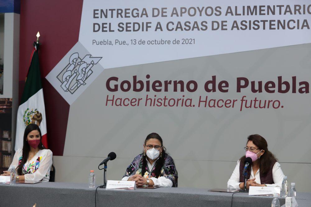Refrenda Rosario Orozco compromiso del SEDIF con población más vulnerable