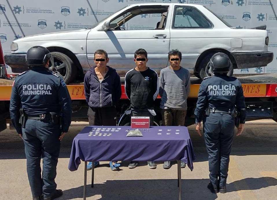 Desarticuló SSC banda presuntamente dedicada al robo de vehículo