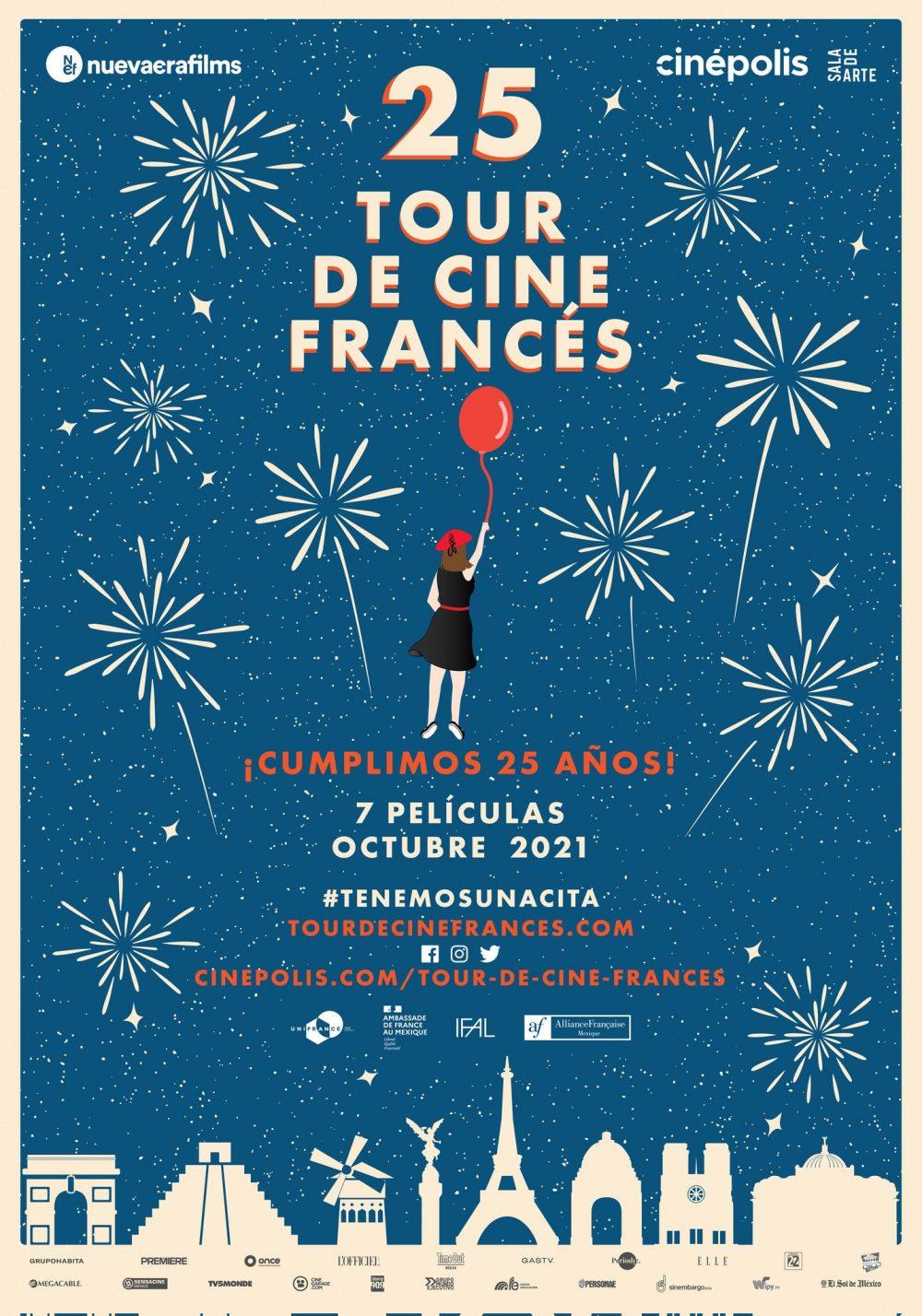 Inicia 25 Tour de Cine Francés, referente cultural de los poblanos