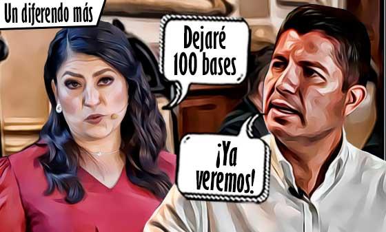 Eduardo Rivera podría desconocer las 100 bases autorizadas por Claudia Rivera