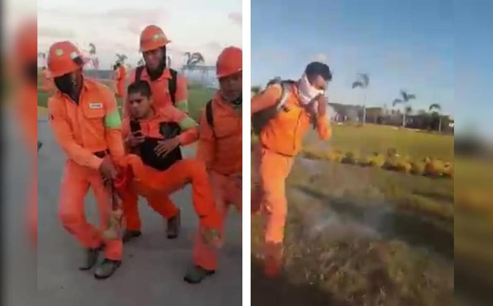 Reportan enfrentamiento en refinería de Dos Bocas