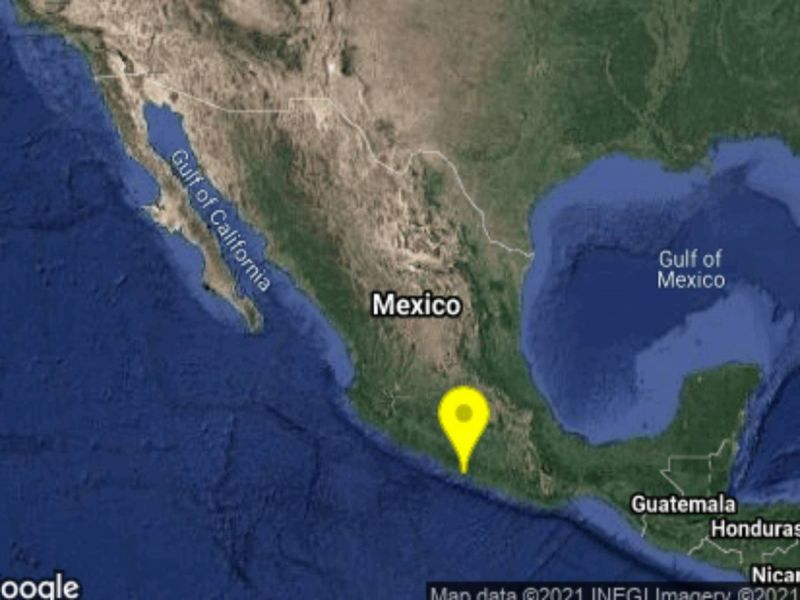 Sismo de magnitud 4.5 remece a Guerrero
